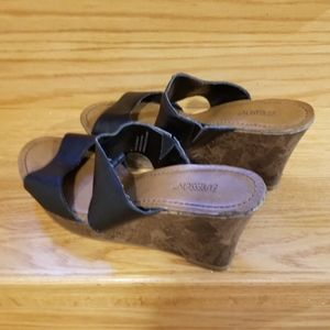 WEDGE HEEL SLIPPERS